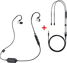 Shure SE215-CL-BT1 Wireless Bluetooth Sound Isolating Earphones (Clear) with RMCE Remote/Mic Cable