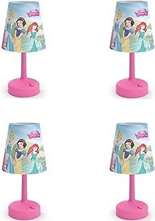 PHILIPS Disney Princess Castle Cinderella Snow White Belle Aurora Lamp (4 Pack)