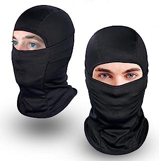 Achiou Balaclava Face Mask UV Protection for Men Women Sun Hood Tactical ski
