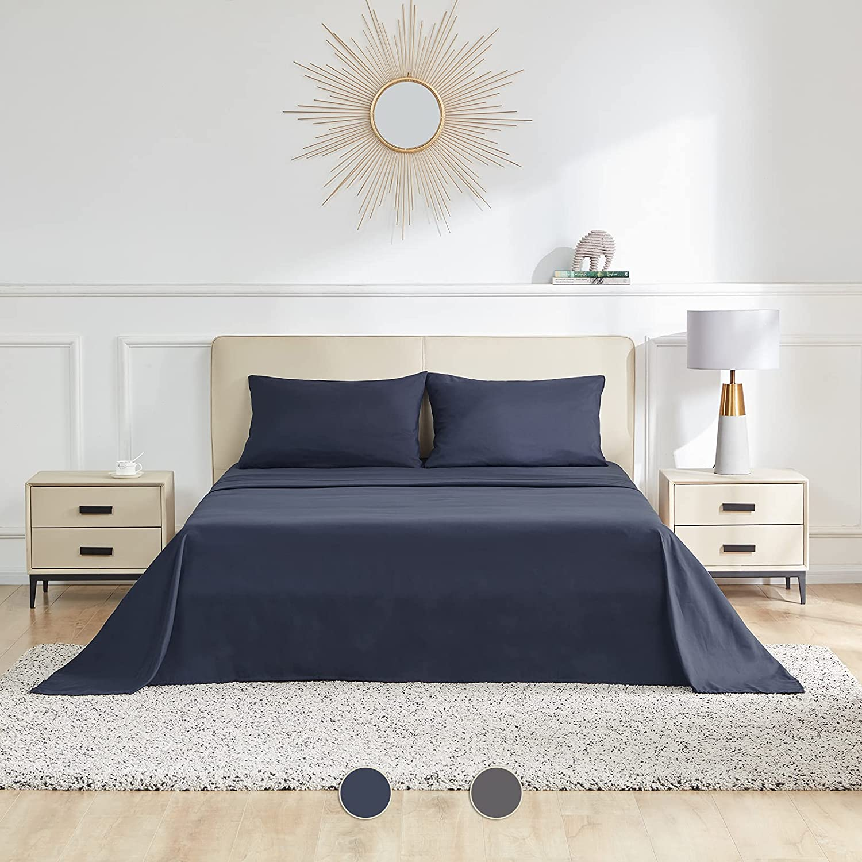 SETORE Comfort 4PCS 100GSM Full Choice Polyester deep Finally resale start Bed Pocket Cloth
