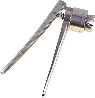 Eowpower 20mm FLIP-OFF Vial Crimper Manual Sealer, Crimper Medical, Bottle Cap Crimping Tool, Hand Sealing Machine