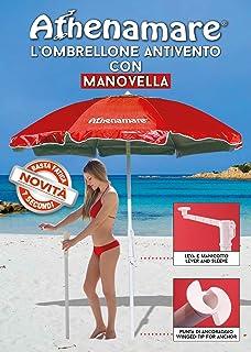 Sombrilla de playa – Paraviento. Resistente al viento con su sistema