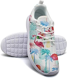 Eredfs Tropical Watermelon Fruit Black College Student Low Cut Beautiful Sports Shoes
