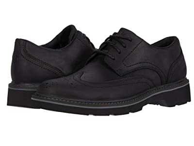 Rockport Charlee Wing Tip (Black) Men