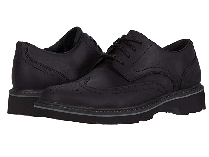 Rockport  Charlee Wing Tip (Black) Mens Shoes