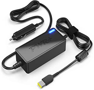 CAR Charger Lenovo Laptop 45W 65W 90W 0B47481: T440 T450 T460 T470 ThinkPad X1 Carbon Yoga 2 Pro 11 13 14 Edge 15 Flex 3 G50 G70 Z50 X240 X250 X260 T440p T450s T460s T470s Ideapad Compatible Adapter