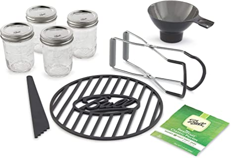 Amazon.com: Ball Preserving Starter Kit, 9-Piece, Clear: Home & Kitchen