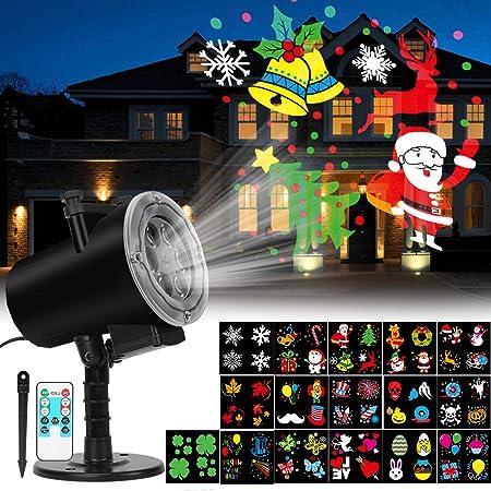 Halloween Noël DEL laser projection Lights Indoor Outdoor Festival Party