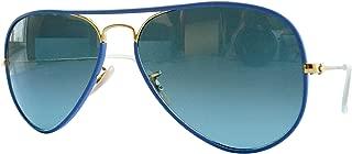 Ray-Ban Men's Aviator Full Color Aviator Sunglasses