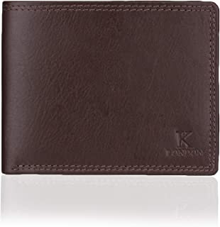 K London Stirling Brown Compact Men's Wallet (7005_BRN)