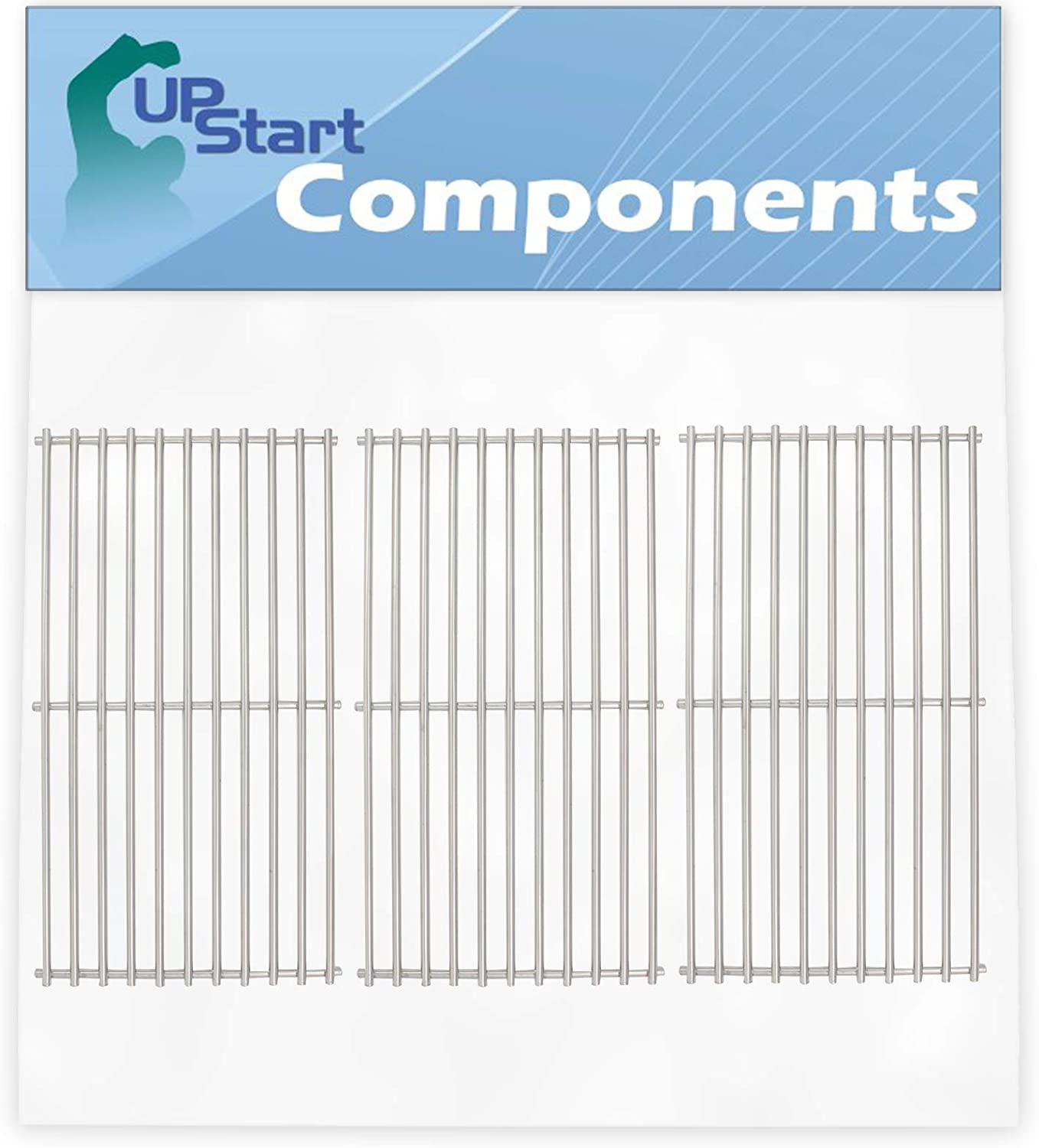 UpStart Components 毎日激安特売で 営業中です お得なキャンペーンを実施中 3-Pack BBQ Grill Grates Replacement Cooking P