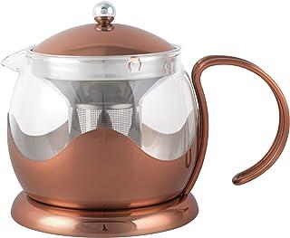 La Cafetière Copper Le Teapot, 1.2 L (42 fl oz)