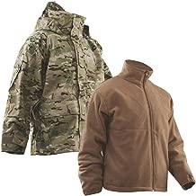 Tru-Spec H2O Proof Gen 2 ECWCS Multicam Parka w/Coyote Brown Polar Fleece Jacket