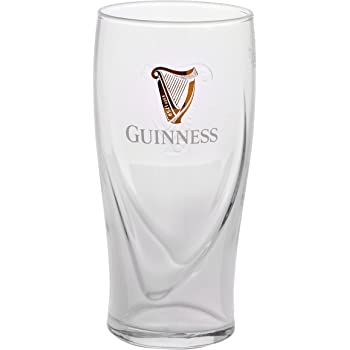 Guinness Pint Glass New Style CE Stamped 20oz Fully Toughened Official Brand