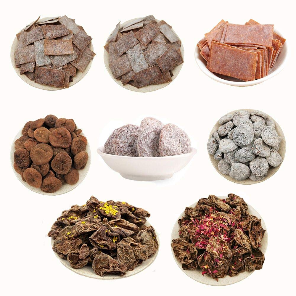 OUYANGHENGZHI Year-end Very popular gift Mixed Fruit Dried Plums 8-Flavor Preserved Prunes