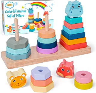 GIFTKING Stacking Toys for 1-3 Years Old Kid-Best Gifts