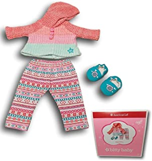 """American Girl Bitty Baby Warm as Can Be Outfit for 15"""" Dolls (Doll Not Included)"""
