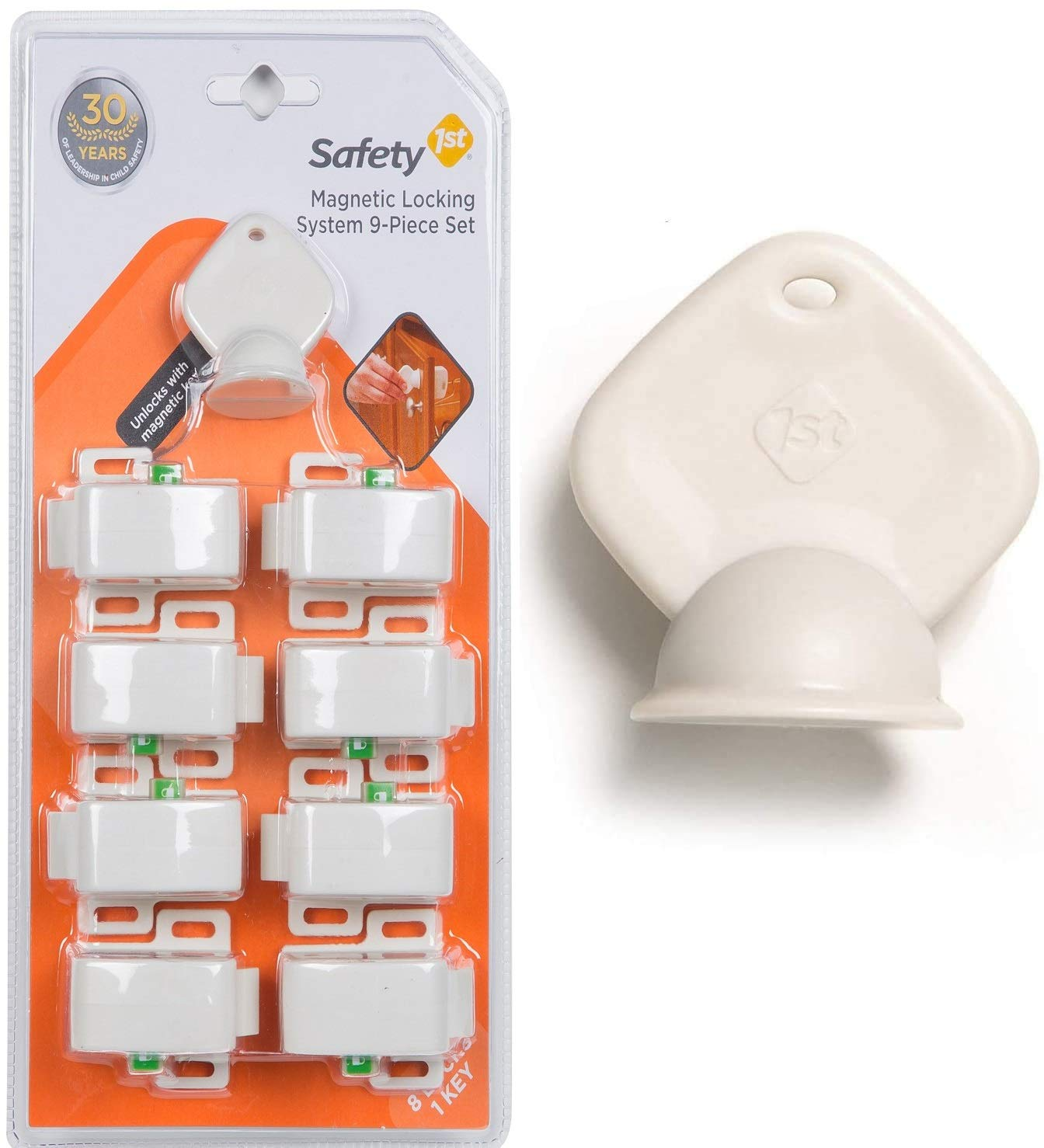 Safety 1st Magnetic Locking System 8 locks + 2 Keys