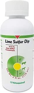 Vetoquinol 411512 Lime Sulfur Dip, 4 oz