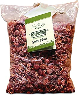 OVERSTOCK SALE!! NaturOli Organic Soap Nuts/Soap Berries PIECES/BULK - FIVE POUNDS (1000+ Loads) Seedless USDA Certified - Fresh Wild Harvest - Hypoallergenic, Non-toxic
