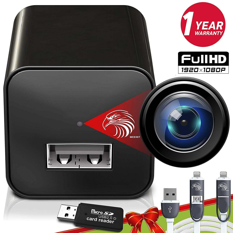 Spy Camera Charger Hidden Surveillance