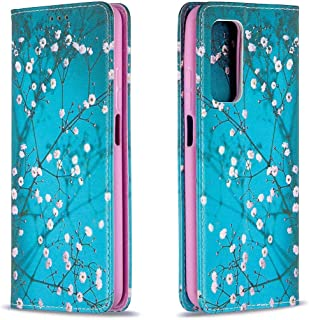 Mylne Wallet Folio Flip PU Leather Case for Huawei P Smart 2021,Creative Painted Design Full-Body Protective Cover Card Ho...