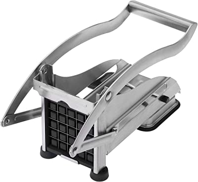 Westmark 4004094118166 Germany Potato Vegetable French Fry Cutter 3 Interchangeable Blades Stainless Steel, One Size, Silver