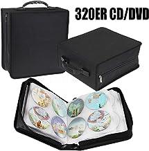 Generic - Funda para CD y DVD (320 Unidades, Incluye Funda para CD y DVD), Color Negro