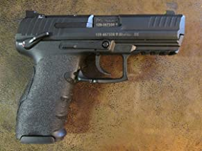Black Scorpion Peel and Stick Grip Tape Pistol Gripping Enhancements for The Heckler & Koch (H&K) P30 and VP9
