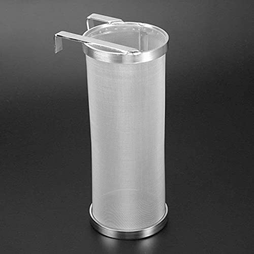 """high quality MGGi 400 Micron Mesh Hop Spider, Stainless Steel lowest 4 x10 inch Hopper Filter Strainer, lowest Dry Beer Filter Basket Hop Filter Hop Spider for Home Beer Brewing Keg Tea Kettle for Father's Day Gift - 4""""X10"""" online sale"""