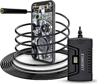 Endoscopio SUMGOTT 1080P Full HD cámara endoscópica camara inspeccion para Android y IOS Smartphone/Tableta