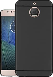 Hello Zone Exclusive Soft Transparent Crystal Clear Back Cover Back Case Cover for Moto G5s Plus