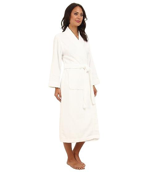 LAUREN Ralph Lauren Greenwich Woven Terry Long Robe White For Sale The Cheapest 0tTeNl