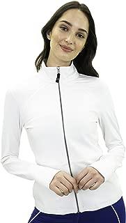 Satva Lightweight Full Zip Slimfit Running Yoga Workout Dhana Jacket Coat Shirt with Thumbholes