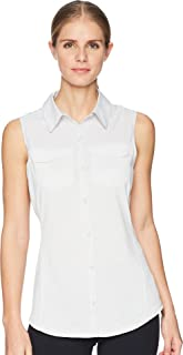 Womens UA Threadborne Fish Hunter Hybrid Sleeveless Shirt