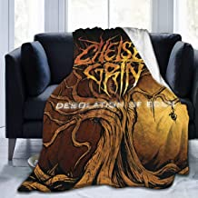 JacobKThompson Chelsea Grin Albums Luxury Light and Comfortable Keep Warm Flannel Velvet Plush Throw Blanket,Suitable for All Seasons 60