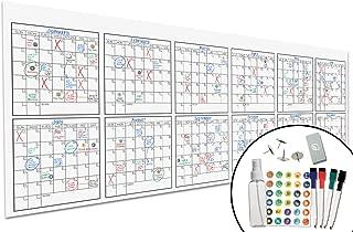 Large Dry Erase Wall Calendar - 36