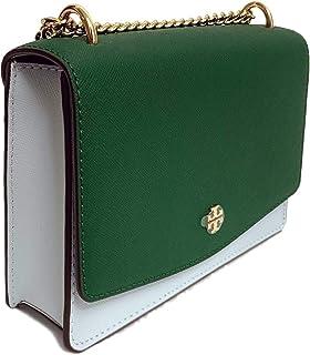 Tory Burch Emerson Mini Shoulder Bag (Seltzer Emerald Stone)