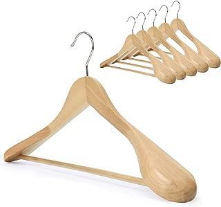 extra-wide shoulder suit hangers
