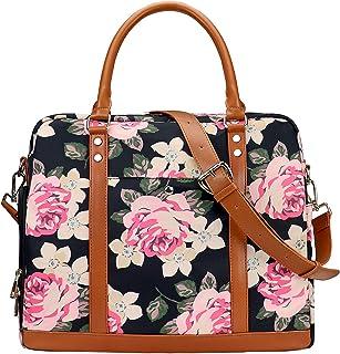 Pink-daisies-flowers Travel Carry-on Luggage Weekender Bag Overnight Tote Flight Duffel In Trolley Handle