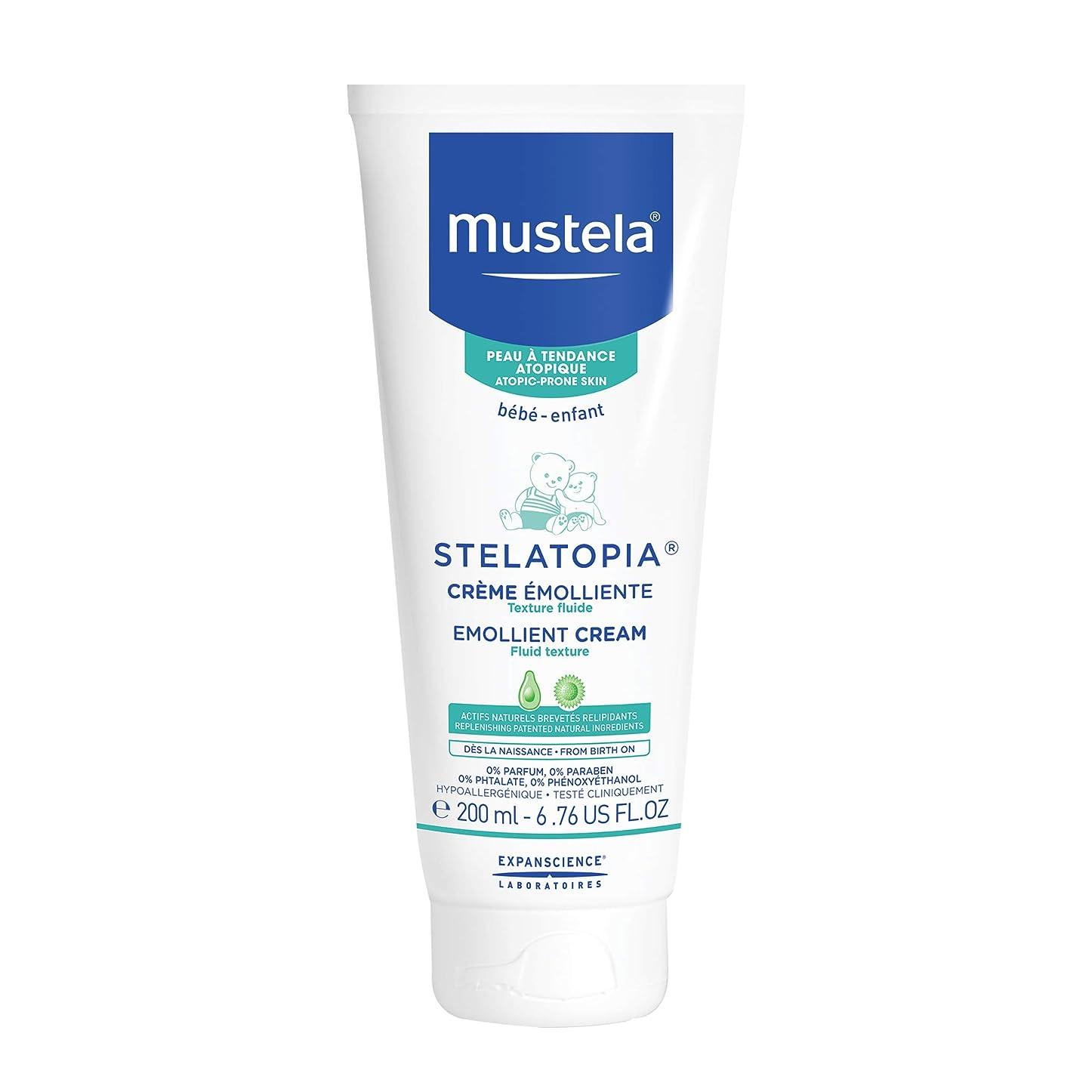 安定しましたリズミカルなドアMustela - Stelatopia Emollient Cream (6.76 oz.)