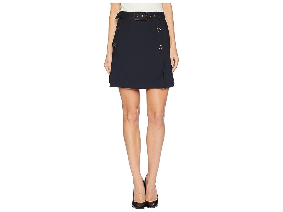 J.O.A. - J.O.A. Button Detail Skirt