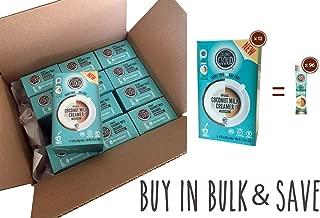 Coconut Cloud: Original Flavor Dairy-Free Coffee Creamer |Minimally Processed. Made from Coconut Powdered Milk. | Vegan, Gluten Free, (Shelf Stable: Home, Office, Travel), 96 Single Serve Sticks Bulk