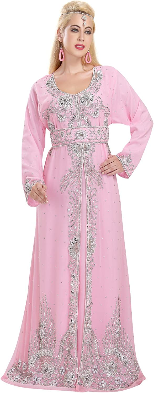 Exclusive Evening Gown Maxi Caftan Dress By Maxim Creation 5845