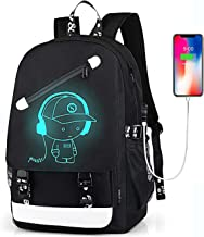 Anime Backpack for Boys, School Bags Bookbags for Teenagers