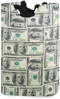 ZOMOY Grand Organiser Paniers pour Vêtements Stockage,Billets d'un Dollar de la Réserve fédérale américaine avec Le Portra...