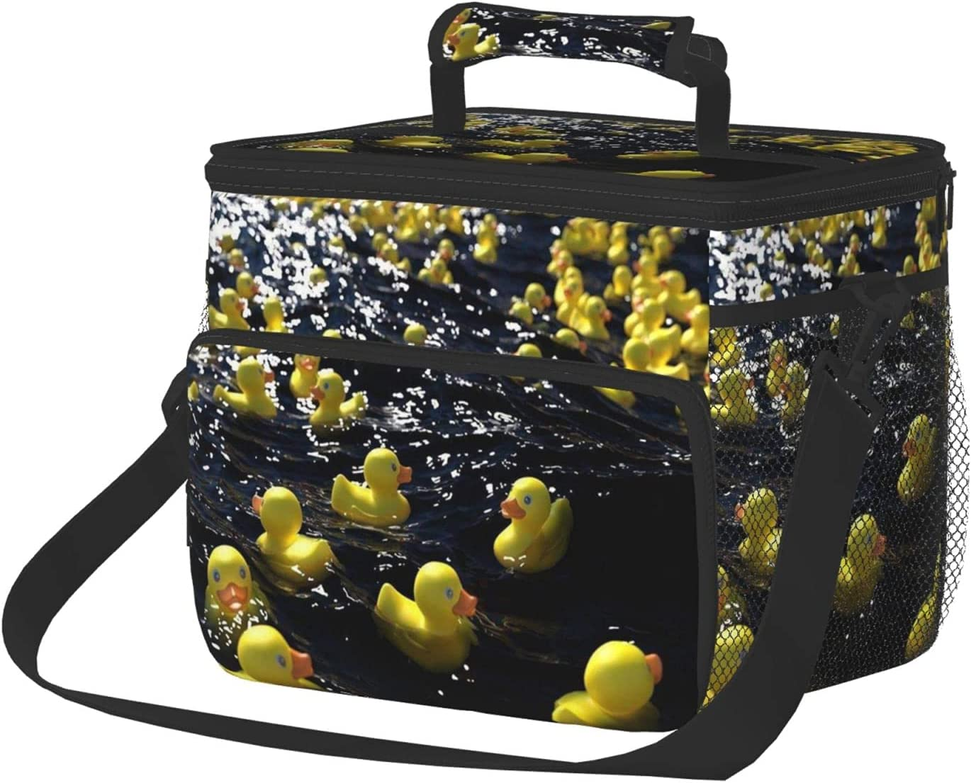 Rubber Duck In a popularity Insulated Lunch Bag Bo For Women Super Special SALE held Reusable Men-