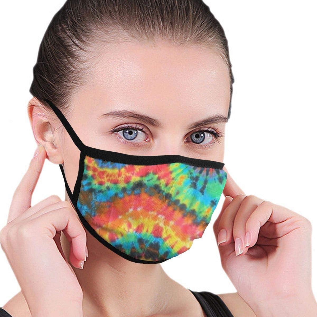 LANJYF 2 Packs Reusable Mouth Guard, Russian Nesting Dolls Pattern Unisex Cotton Face Cloth