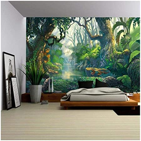 Details about  /3D Beautiful Leaves I2393 Wallpaper Mural Sefl-adhesive Removable Sticker Wendy