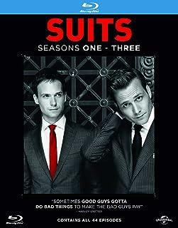 Suits - Season 1-3 [Blu-ray] [Region Free] [Import]